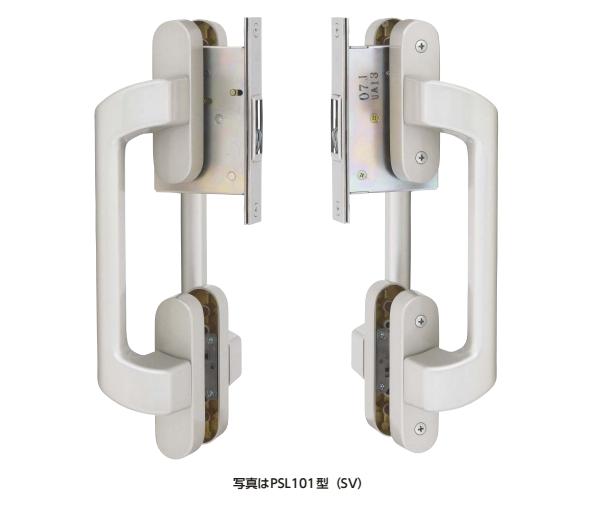 MIWA(美和)推拉门用拉手虚碰锁PSL101