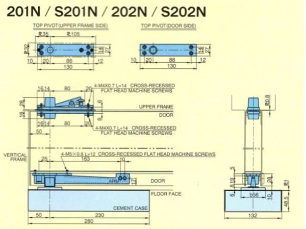 进口地弹簧品牌-日本地弹簧-RYOBI地弹簧-利优比地弹簧