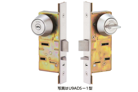 日本进口MIWA美和自动单闩锁 U9ADS-1