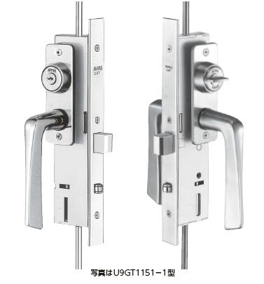 日本MIWA美和宅框用隔音门长插销锁U9GT1151-1