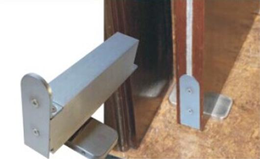 日本NHN木门内置闭门器|地弹簧